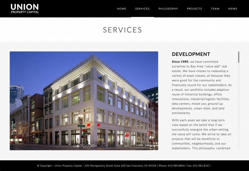Real Estate Website Design san francisco