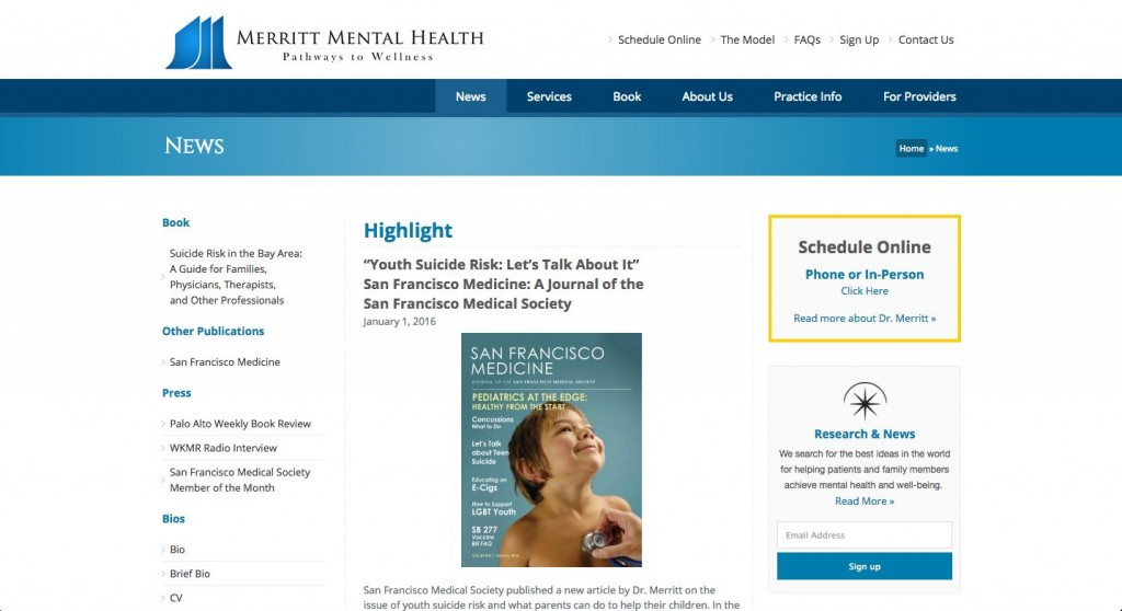 WordPress-Web-Design-San-Francisco-Eli-Merrit-Mental-Health-2