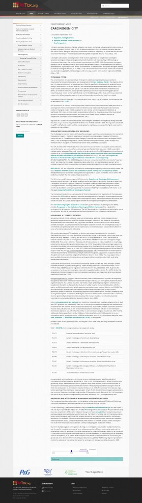 Information Driven Website Design