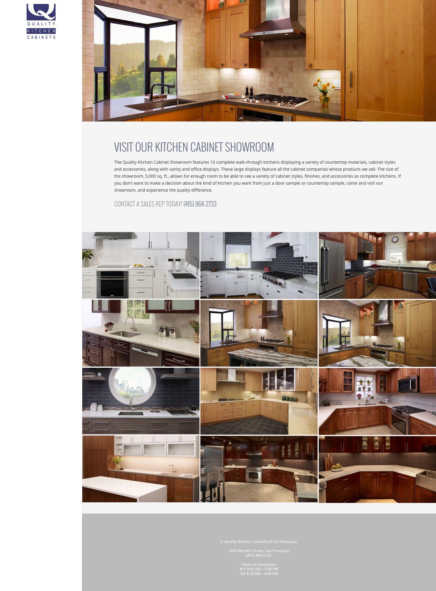 ... WordPress Website Design Company San Francisco Quality Kitchen