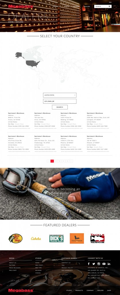 Custom Sporting Goods eCommerce