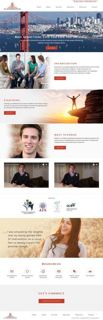 Custom Wordpress Treatment Theme