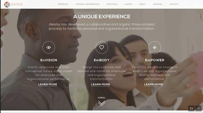 Kientzler Consulting Website