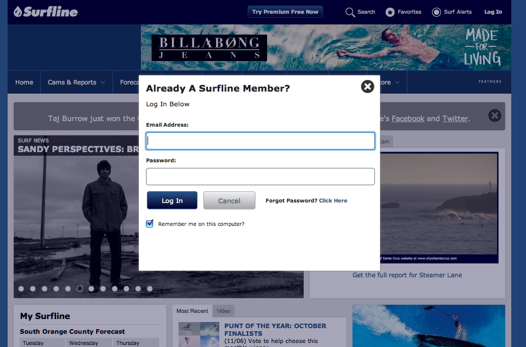 Surfline-Membership-Subscription-Website-Example-Web-Design-San-Francisco