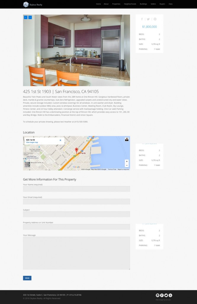 Website Design For Realtors