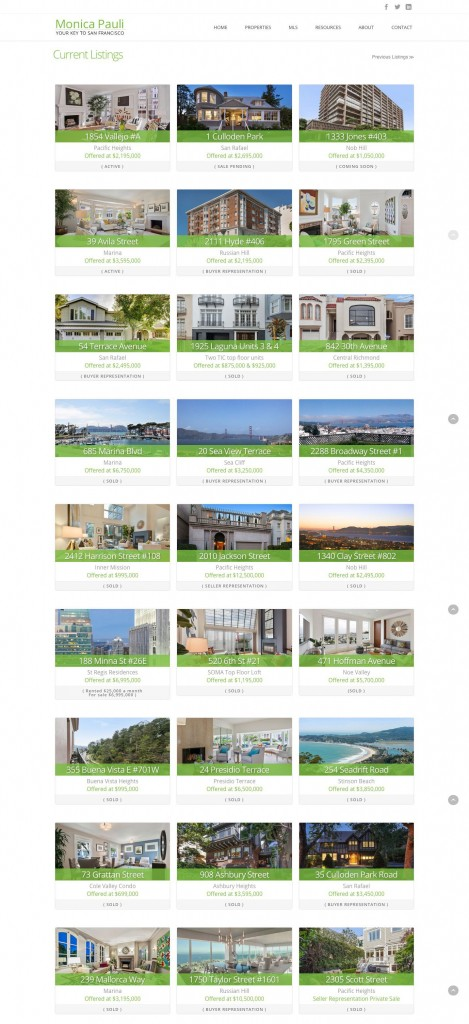 Website for Realtors