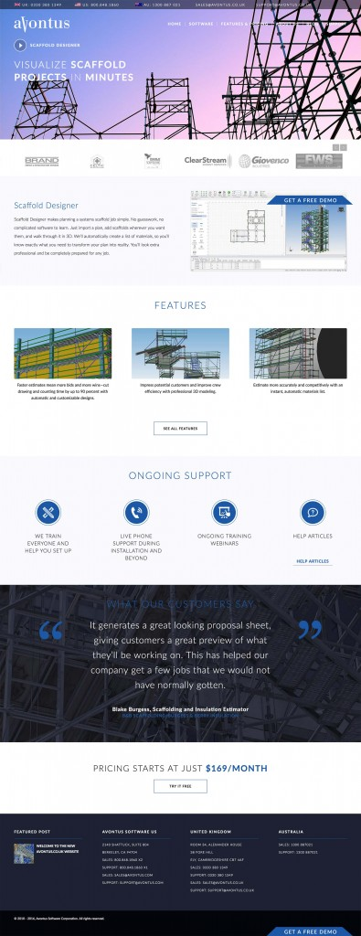 Avontus Custom Wordpress Theme